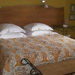 Saintly bedroom: St Laurent.
