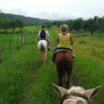 Horseback riding to Flour Camp cave
