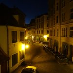 The night view from my room...