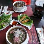 Pho Bo Vien, Pho Bo and the delicious Cha Gio