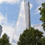 WTC w/ Survivors Tree in lower right