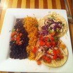 Baja Chicken Taco Plate
