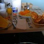 normal breakfast