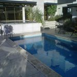 Pileta de natación en terraza