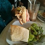 chicken/avocado sandwich (for mommy)