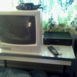 I can't believe they had a VCR in the room and no cable