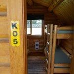 Our KOA cabin. :)