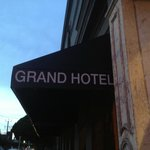 The Grand Hotel - outside