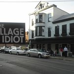 Exterior of The Village Idiot in the summer of 2013