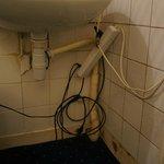 Hygiène et sécurité du lavabo dans la chambre...
