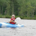 Kayaking Patten Pond