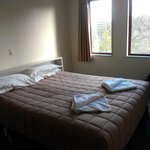 Standard double room bed