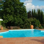 large pool, very refreshing