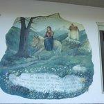 pittura murale sulla facciata