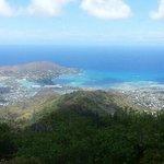 Top of Kuli'ou'ou Ridge