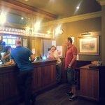 bar area....lovely staff