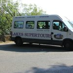 Supertours bus at Ullswater
