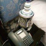 オリジナルの陶器製ランプ