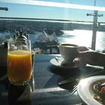 Breakfast with an unsurpassed view!
