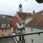 vista dalla camera sui tetti di Lindau