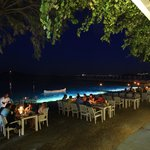 Ayana Restaurant by night