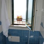 Blick vom Badezimmer aus