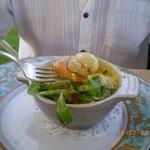 Cassolette de St Jacques sauce Dieppoise
