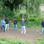 The local compound bow competition