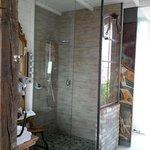 Duschen mit viel Platz...