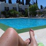 Pool side view... heaven!
