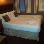 The 2 single beds