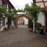 Alter Pfarrhof 1740 Foto