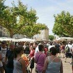 marché du village