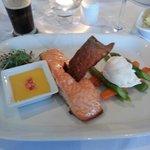 main course saumon