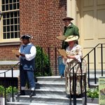 Old State House am Independence Day