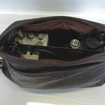 DDR: spy camera in handbag