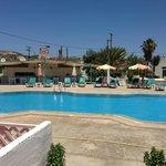 Pool and bar