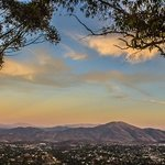 View From Mt Helix at Sunset