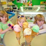 Fabulous Minghella ice creams at Bliss Ice Cream Parlour