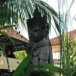 Bali style sculpture