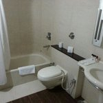 washroom of deluxe room