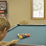 Enjoy a friendly pool game
