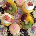 Mini Sweet Treats served at a classic Afternoon Tea