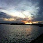 Bay walk area sun rise