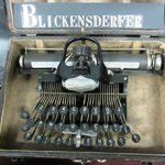 One of the oldest typewriters in the world