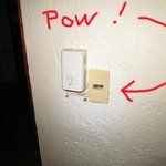 Exploding light switch