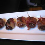 Taberna Durham Bacon wrapped dates, manchego cheese, pecans