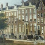 The house on a painting
