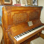 One of two original pianos