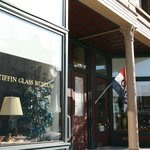 TIffin Glass and other local businesses line Washington Street - come soak in the history.